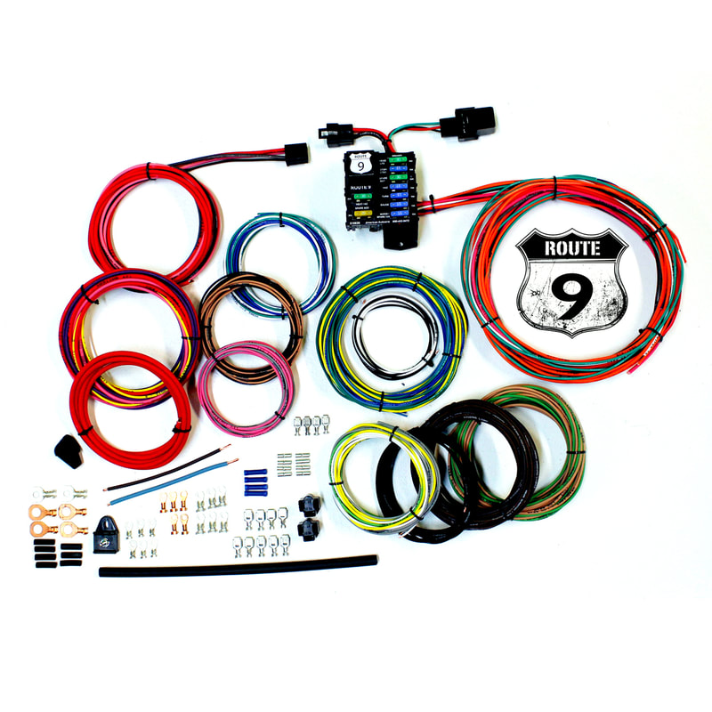 power plus series custom street rod wiring harness kits american Street Rod Tractor